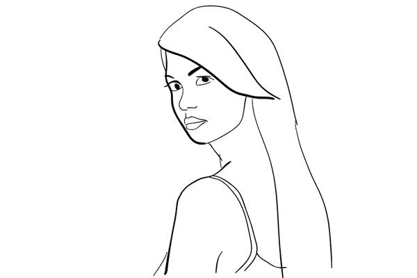 female pose idea