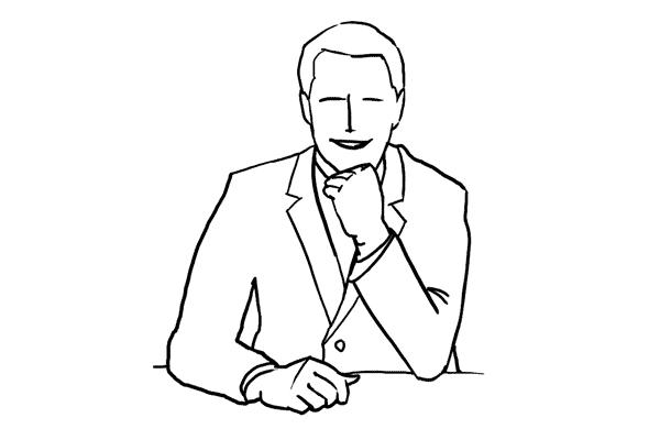 Male Fashion Poses Drawings