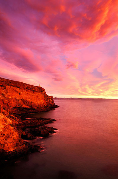 Image: Too much colour. This was one of the most intense sunrises that I have ever witnessed. I shou...