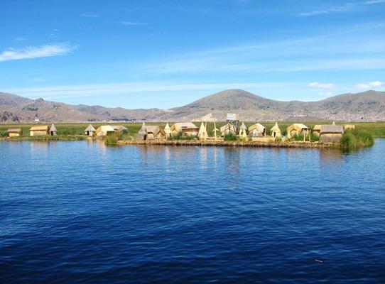 2. Uros, Peru paradise