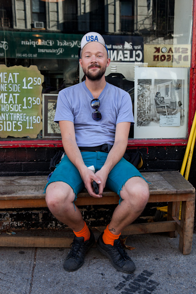 Mike Stupin, Street Portrait