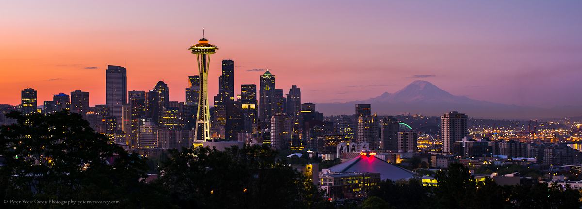 How I Shot And Edited It Seattle Skyline