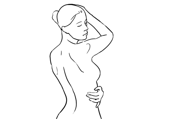 nude photography pose