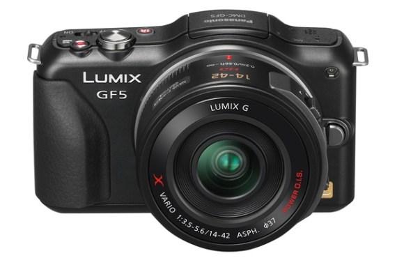 Panasonic Lumix DMC GF5 front