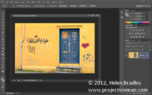 Custom Workspaces in Photoshop