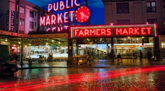 Seattle's Pike Place Market | Seattle, Washington | James Brandon Photography