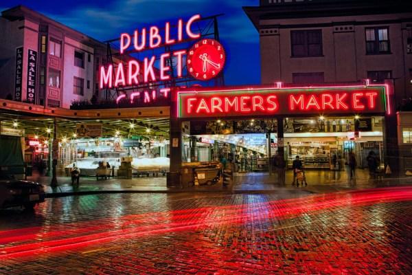Seattle's Pike Place Market | Seattle, Washington | James Brandon Photography