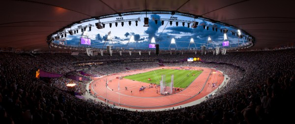 Image: Olympic Effort - A Hand Held Panoramic Shot