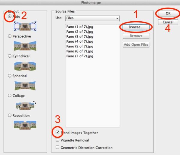 Image: Basic Pano Workflow