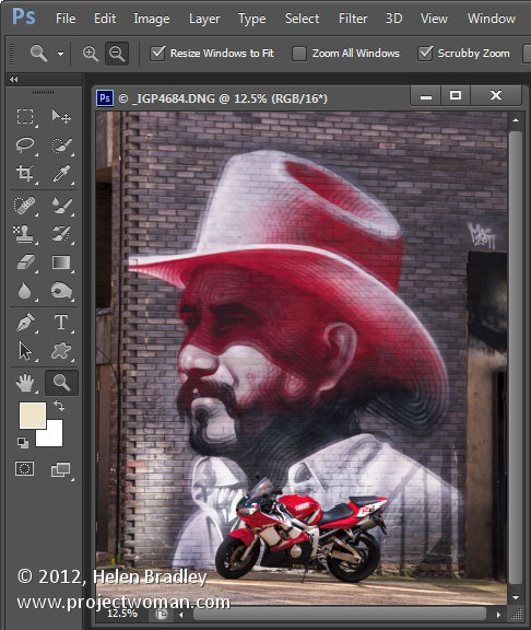 Photoshop masks 101 step1