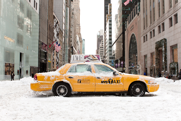 Stuck Cab, 5th Avenue