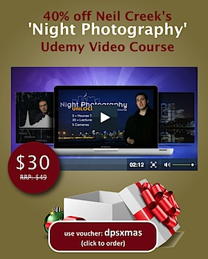 Unlock the Secrets of Night Photography: 38% Off Today Only