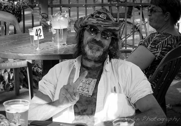Image: Street portraits are also part of street photography. I walked by this gentleman and thought...