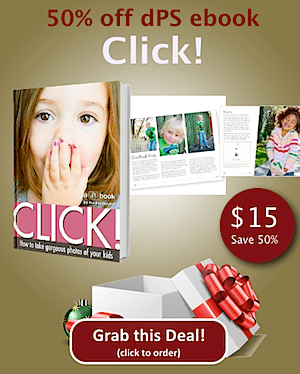 Get Our Kids Photography eBook at 50% Off – Today Only