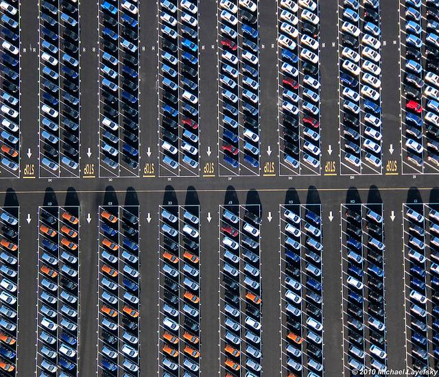 Many Hondas!