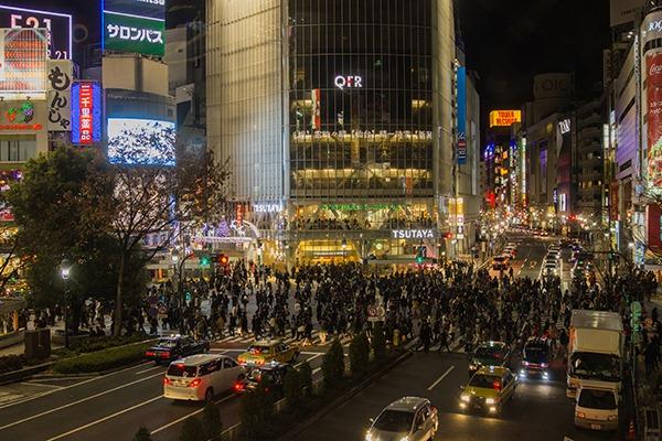 Shibuya cross walk