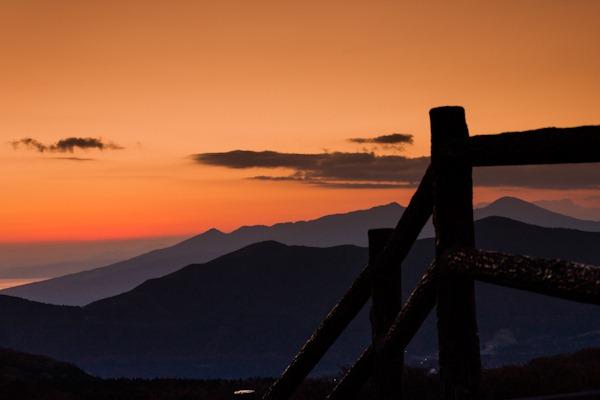 Sunset at Hakone