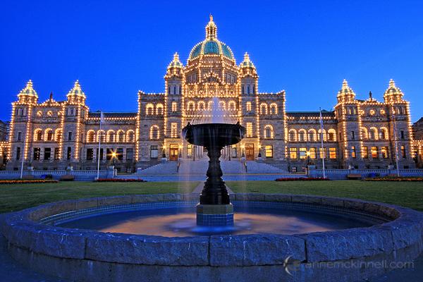 Законодательное собрание штата Виктория, Британская Колумбия