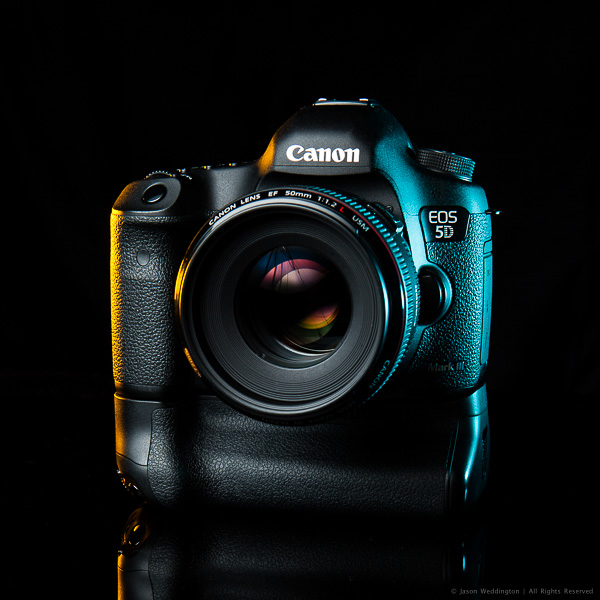 Canon EOS 5D MkIII with EF 50mm f/1.2L