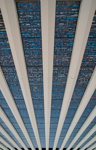 Vertigo  - a building covered in buildings