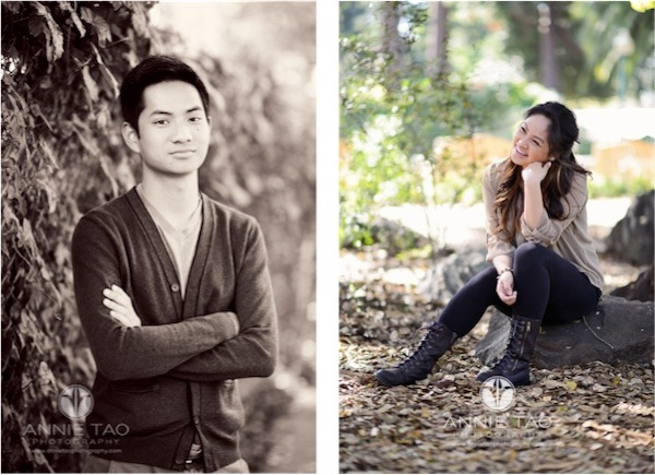 Annie Tao Photography San Francisco Bay Area lifestyle photography young adult sitting on rock