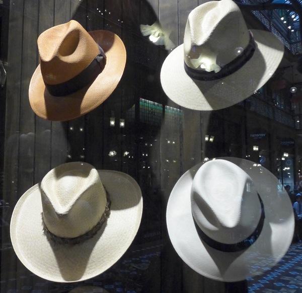 Strand arcade hats