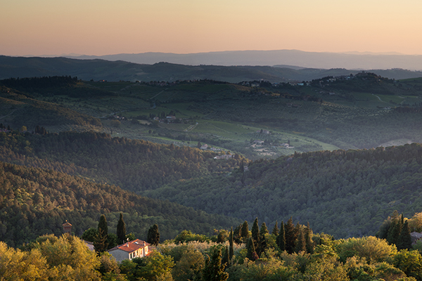 Telephoto Landscapes - Tuscan Sunset