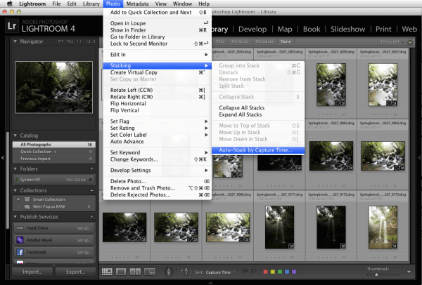 Save Time with Batch Exposure Blending