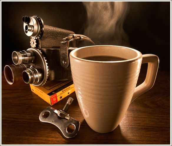 Steaming Coffee 01