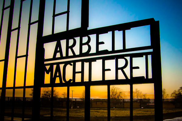Sachsenhausen Concentration Camp - Oranienburg, Germany. I noticed the potential for a good picture when I arrived there earlier. So I calmly visited the site and, by the time I finished, the light was already perfect.