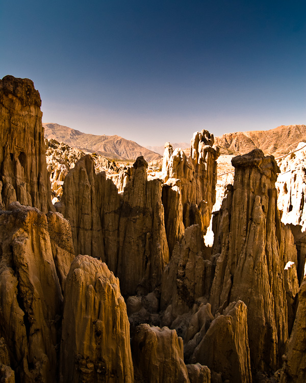 Moon Valley, a beautiful place I missed in my first visit to La Paz, Bolivia.