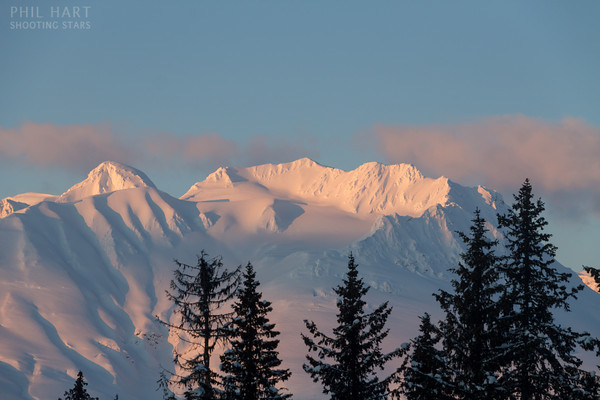 Image: Mountains viewed from the Haines Alaska Road