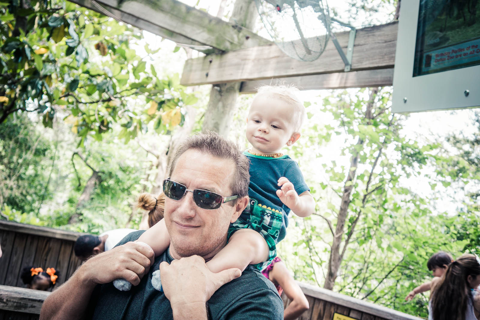 After - Using 'Day at the Zoo' in the JamesB Family Lifestyle collection