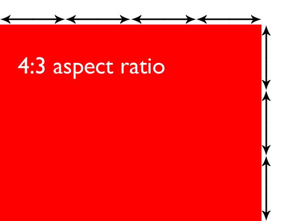 Proporção 4: 3