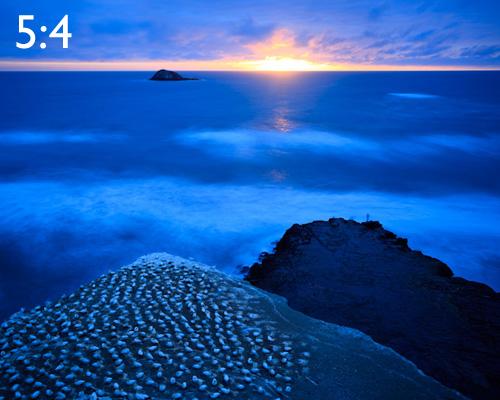 5:4 photography aspect ratio