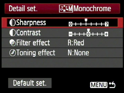 Mastering monochrome mode