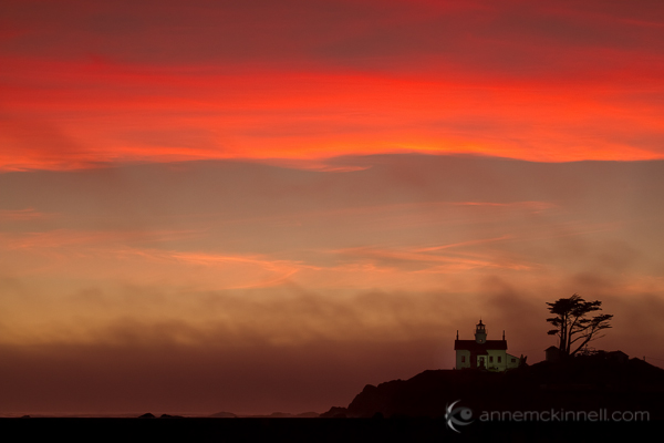 Battery Point Lighthouse, Crescent City, California, by Anne McKinnell