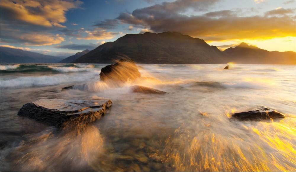 Composing Dynamic Landscape Images