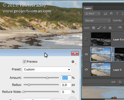 How to Sharpen Image Edges in Photoshop 6