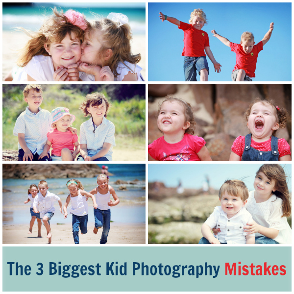 The 3 Biggest Kids Photography Mistakes