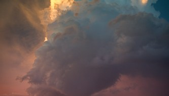 How to Photograph Dramatic Clouds at Sunset