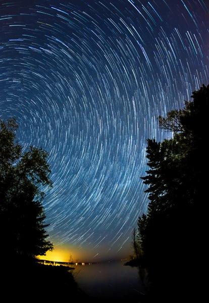 Star trail open