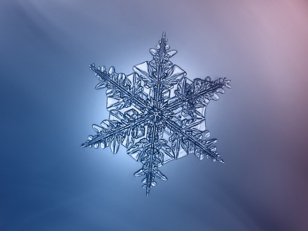 27 Amazing Macro Snowflake Images Shot with a DIY Camera Set Up