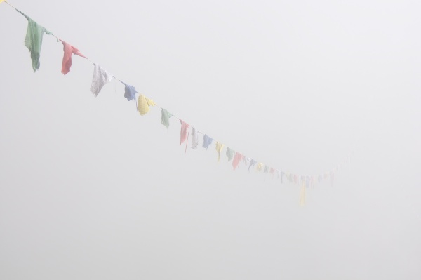 Travel Photography Tips - Man Made Wonders - Tigers Nest Monastery in Complete Fog  Paro Bhutan  Copyright 2013 Ralph Velasco