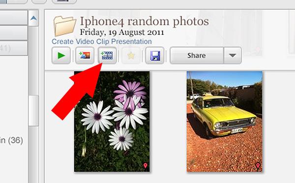 Picasa create video icon 06