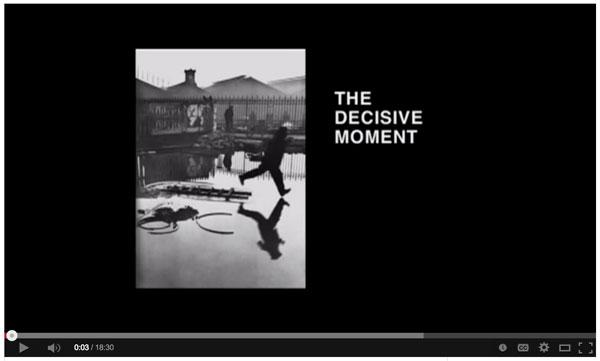 The Master Henri Cartier-Bresson - the Decisive Moment