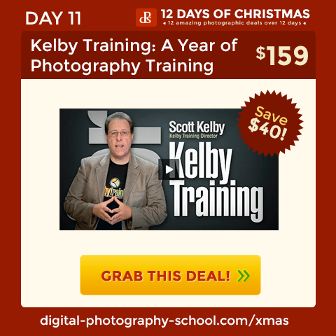 Kelby Training: A Year of Photography Training for a Few Cents Per day
