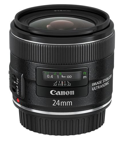 Canon 24mm lens