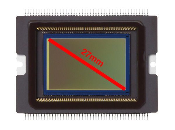 Canon EOS 70D CMOS sensor