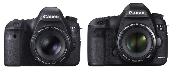 review comparison canon 5d markiii vs the canon 6d